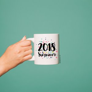 2018 Survivor (Design 1) Mug - Whimsical Co
