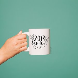 2018 Survivor (Design 2) Mug - Whimsical Co