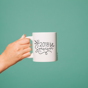2018 Survivor (Design 3) Mug - Whimsical Co