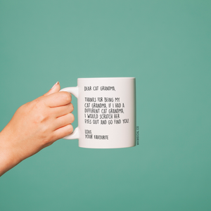 Cat Grandma Mug - Whimsical Co
