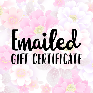 Gift Certificate (Email Only) - Whimsical Co
