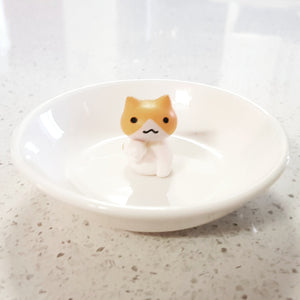 Ginger Cat Trinket Dish - Whimsical Co