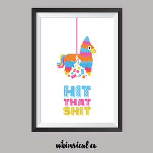 Pinata A4 Print - Whimsical Co