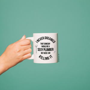 Plumber Mug - Whimsical Co