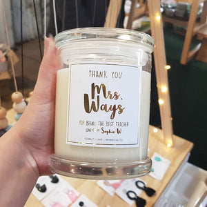 Teacher Candles - Whimsical Co