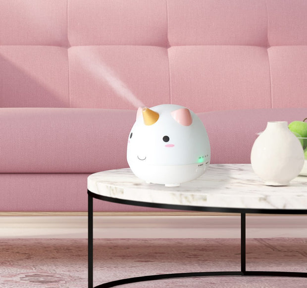 Unicorn Ultrasonic Diffuser (Arriving Early July) - Whimsical Co