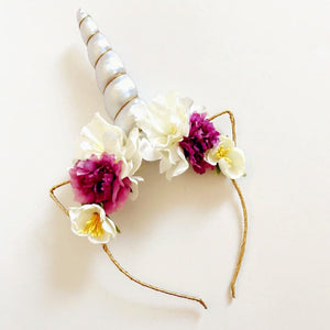 Unicorn Headband (Multi Colour) - Whimsical Co