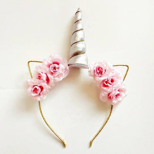Unicorn Headband (Pink) - Whimsical Co