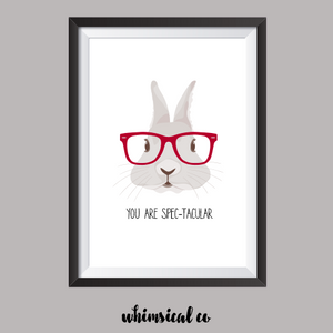 You Are Spec-Tacular A4 Print - Whimsical Co
