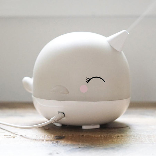 Narwhal Ultrasonic Diffuser (Arriving Early July) - Whimsical Co