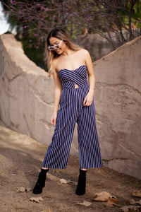 OUT OF LINE JUMPSUIT (NAVY)