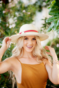 INDIE TWO TONE PANAMA HAT
