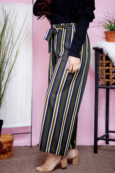 IVY STRIPED PANTS