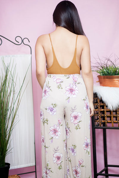 FULL BLOOM SLIT PALAZZO PANTS