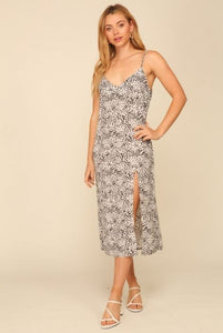 LENNON SPECKLED SLIP DRESS