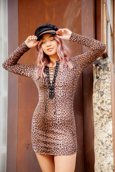 LYLA CHEETAH DRESS