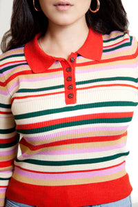 NEW CLASSIC STRIPED POLO (MULTI)