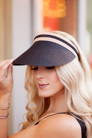 DEL MAR VISOR (BLACK)