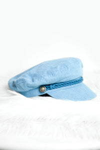 MIA NEWSBOY CAP - FINAL SALE