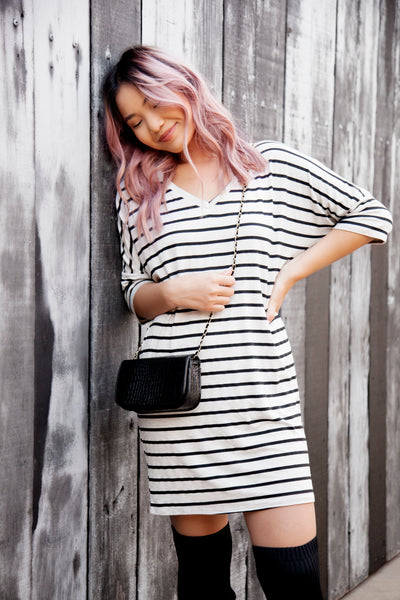 MAGNOLIA STRIPED TUNIC