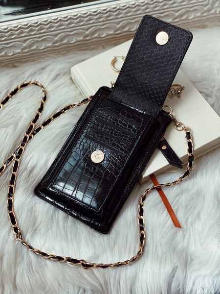 CITY GIRL CROSSBODY - BLACK