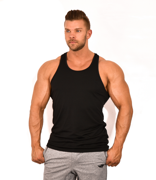 AestheticLife Racerback - Black (Fitted)