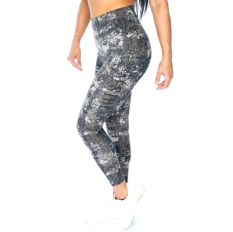 Aesthetic Assembly Signature Legging - Grey Camo