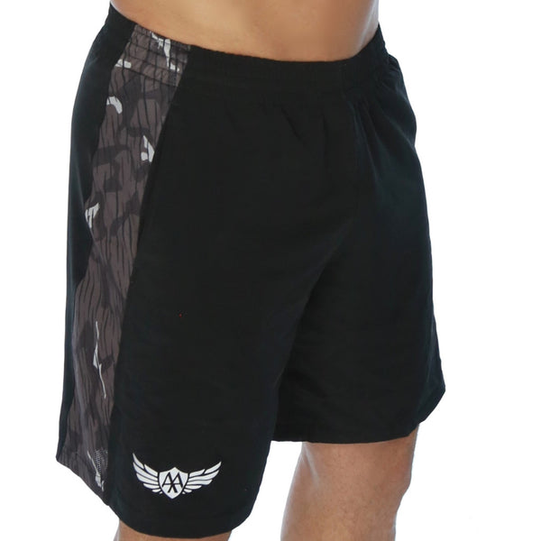 Freestyle Short - Black/Grey Camo