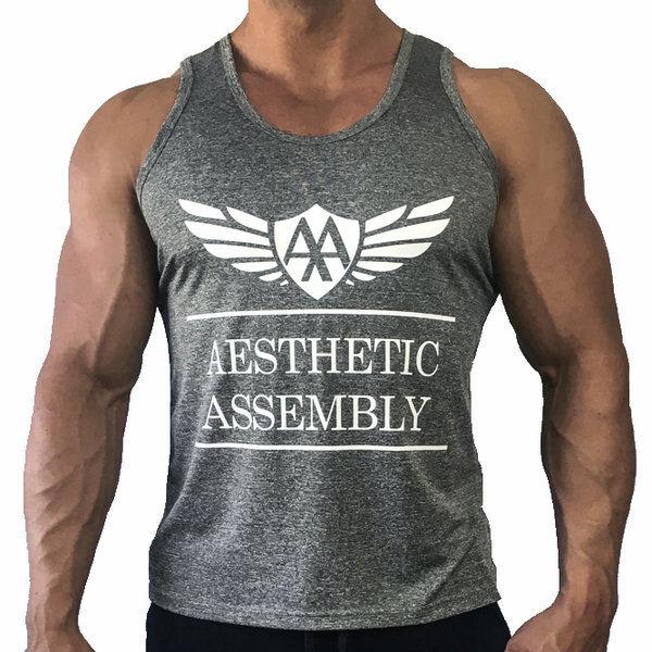 Aesthetic Assembly Signature Tank - Heather Grey