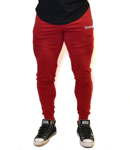 Rise Joggers - Red