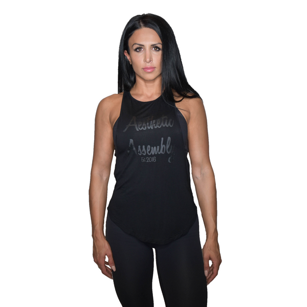 Breathe Tank Top - Black