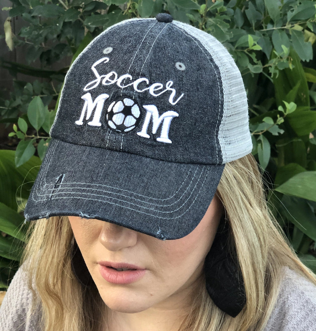 Cocomo Soul Soccer Mom Mesh MESH Embroidered Hat