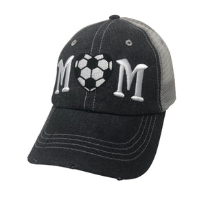 Soccer Mom Mesh MESH Embroidered Hat