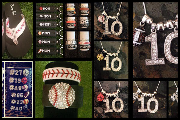 Custom Numbered Sports Swag