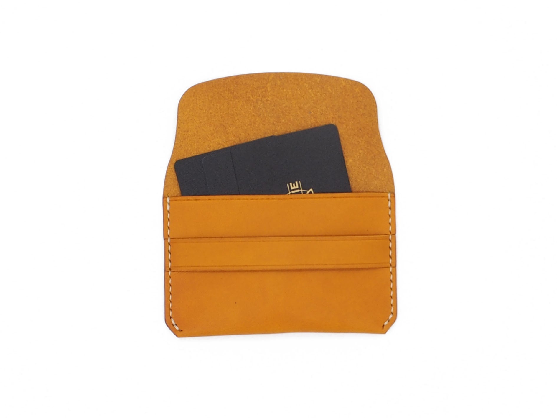 Bodega- Envelope Wallet In Mustard Buttero