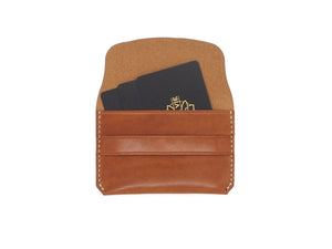 Bodega- Envelope Wallet In Testi Whiskey