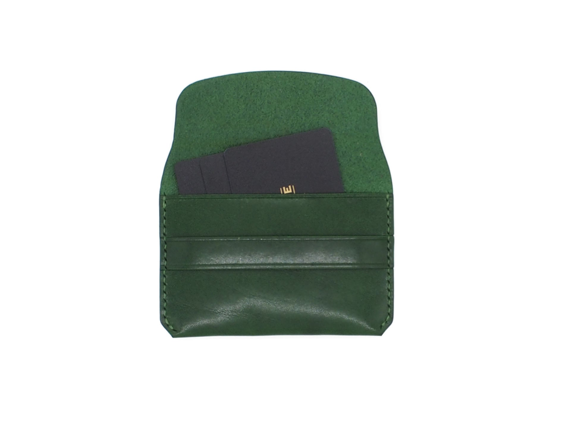 Bodega- Envelope Wallet In Testi Pearl Green