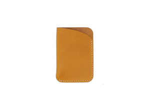 Leeway - Card Sleeve in Mustard Buttero