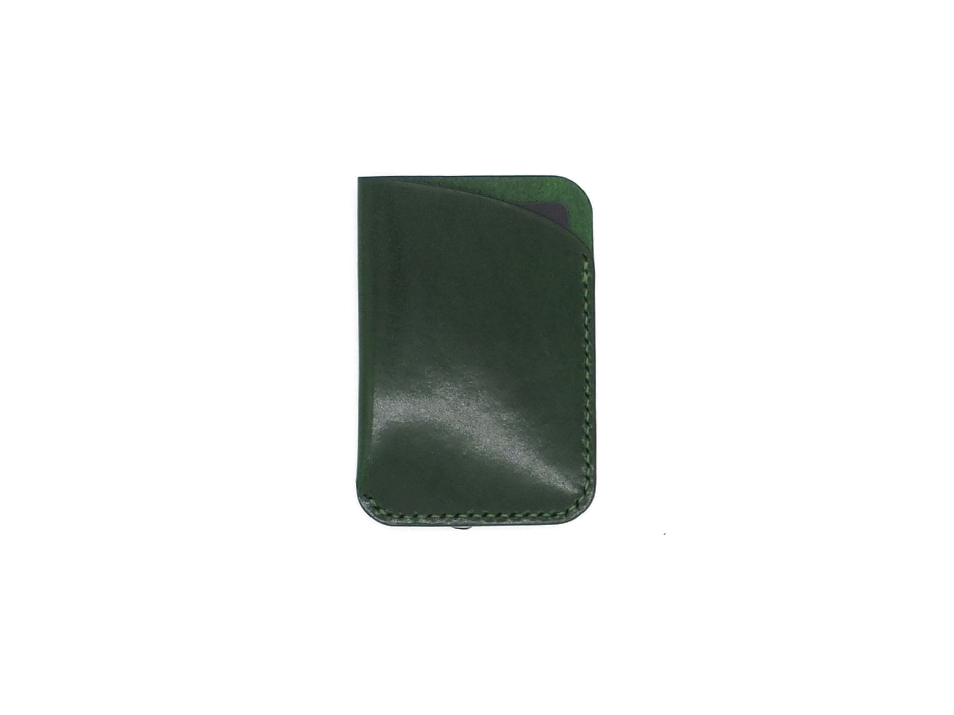Leeway - Card Sleeve in Testi Pearl Green