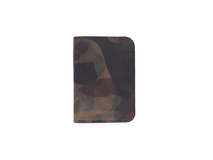Royale - Compact Bi-fold In Woodland Camo