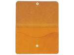 Wanderlust - Snap Passport Wallet In Mustard Buttero