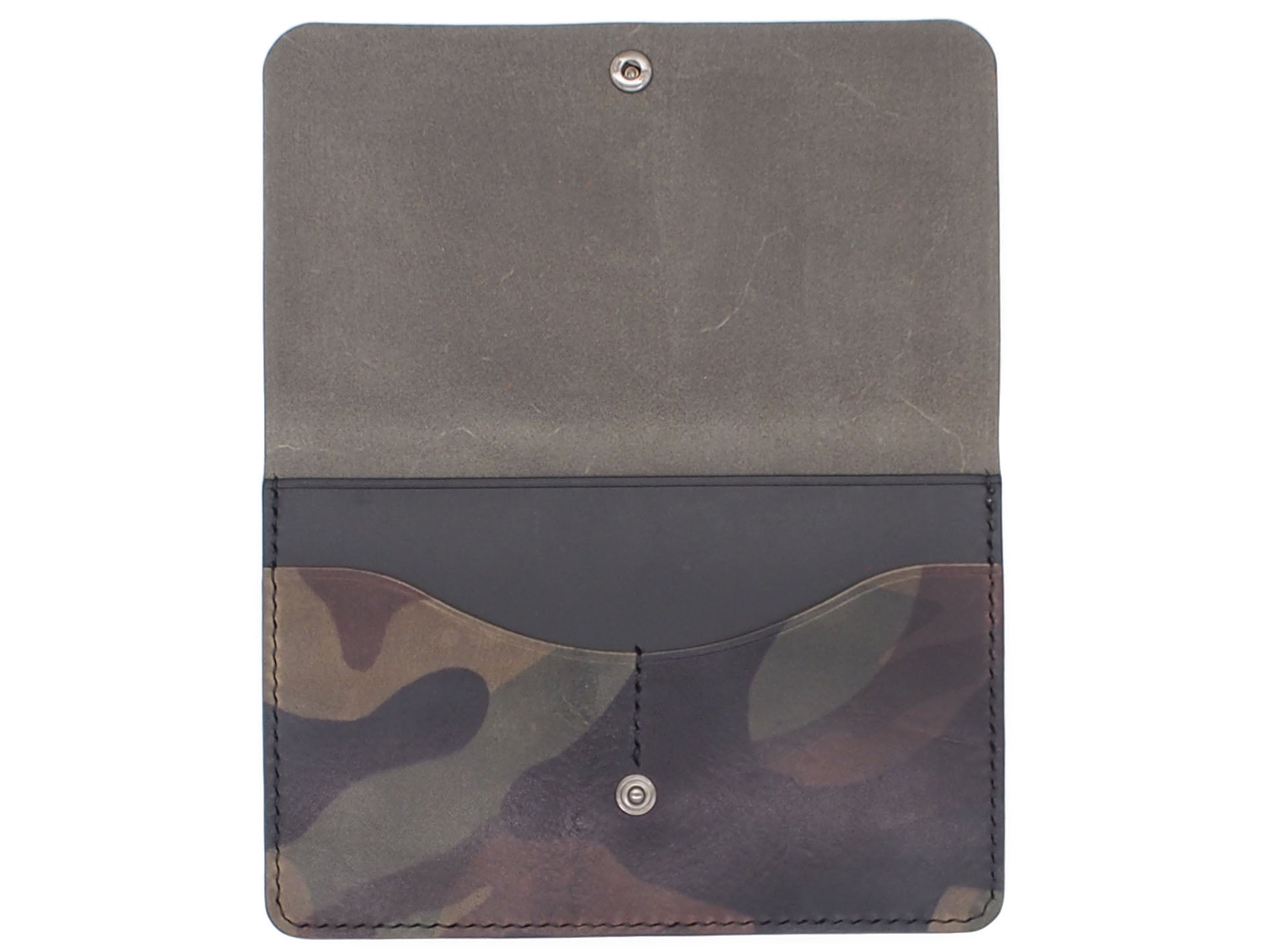 Wanderlust - Snap Passport Wallet In Woodland Camo