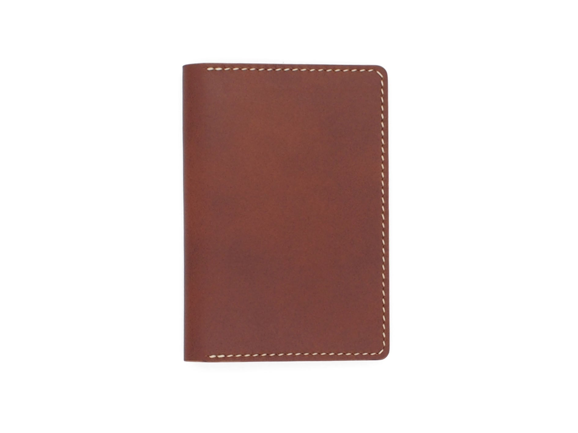 Nomad Mk.2 Passport Holder In Whiskey Buttero