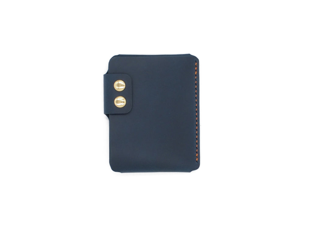 Sentry - Minimalist Wallet In Blue Buttero