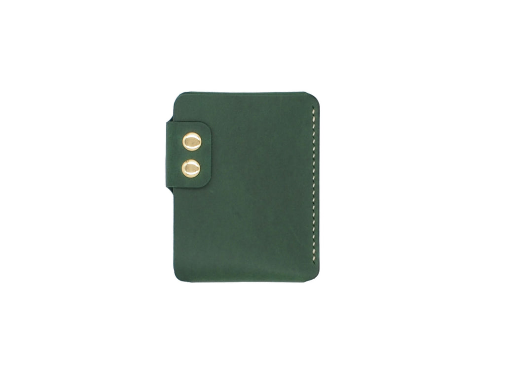 Sentry - Minimalist Wallet In Green Buttero