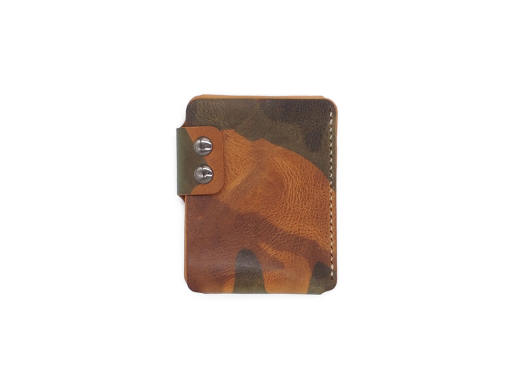 Sentry - Minimalist Wallet In Tiger Camo