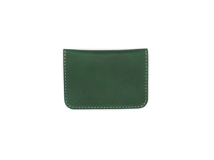 Utility Pocket - Snap Pouch Wallet In Green Buttero