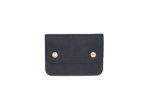 Utility Pocket - Snap Pouch Wallet In Navy Minerva Box