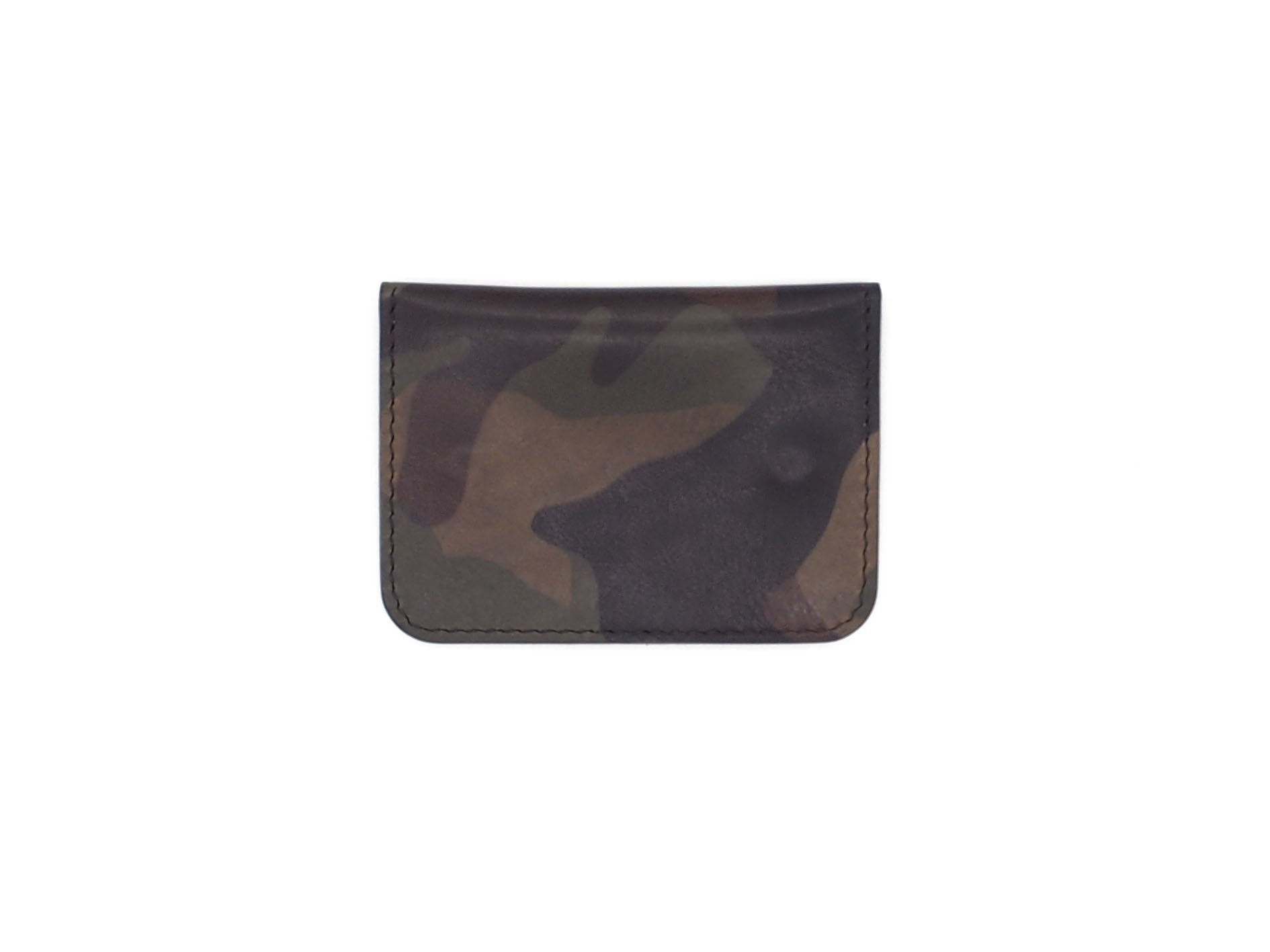 Utility Pocket - Snap Pouch Wallet In Woodland Camo