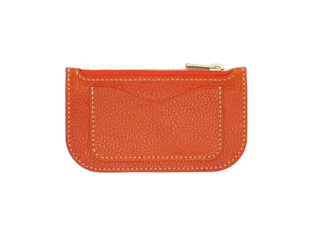 Alice - Zip Wallet In Dollaro Orange